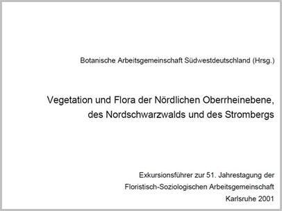 Exkursionsführer 51. Jahrestagung Flor.-Soz. AG (2001)